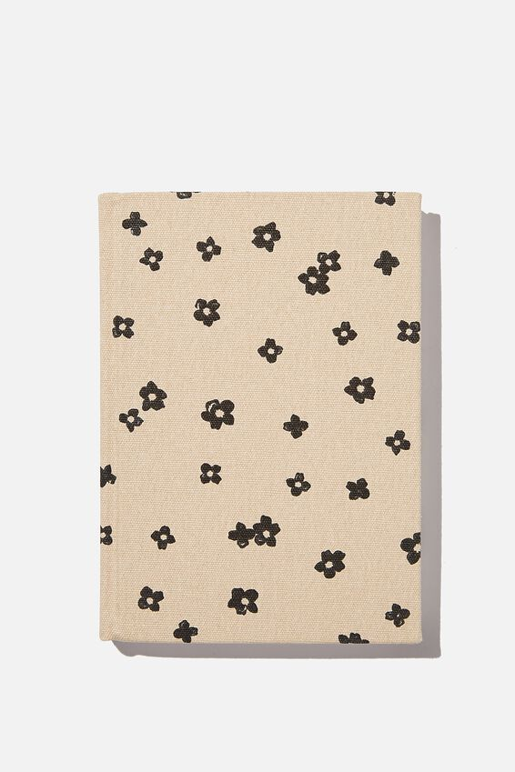 2021 A5 Oxford Daily Diary, CHARLIE FLORAL OAT MILK