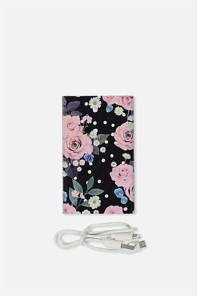 Printed Charge It, POLKA FLORAL