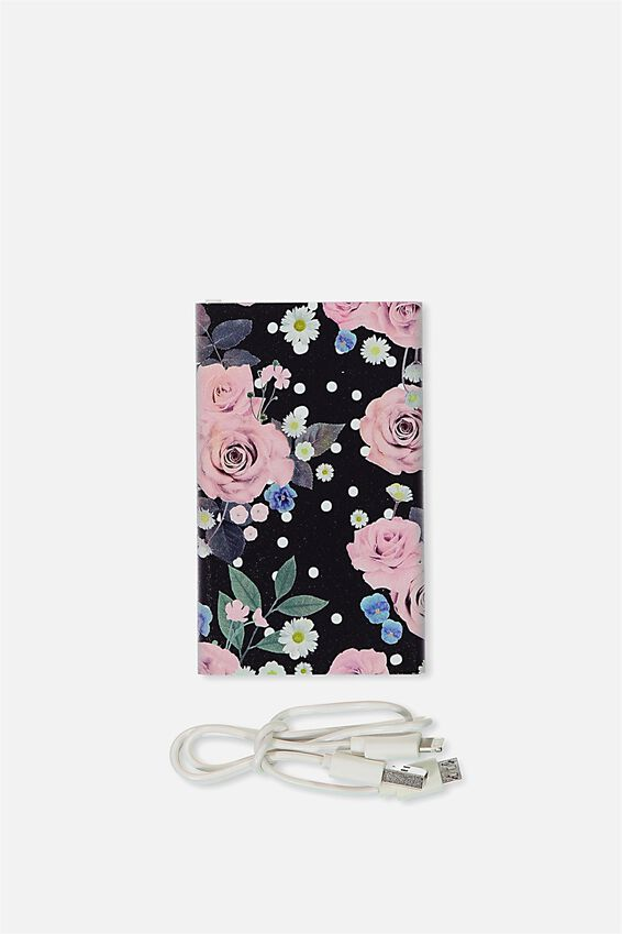 Printed Charge It Charger, POLKA FLORAL
