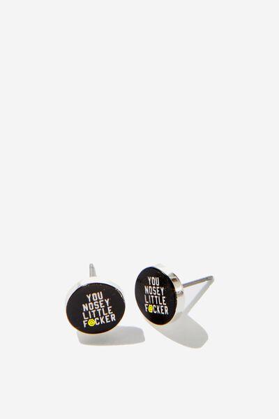 Novelty Earrings, NOSEY