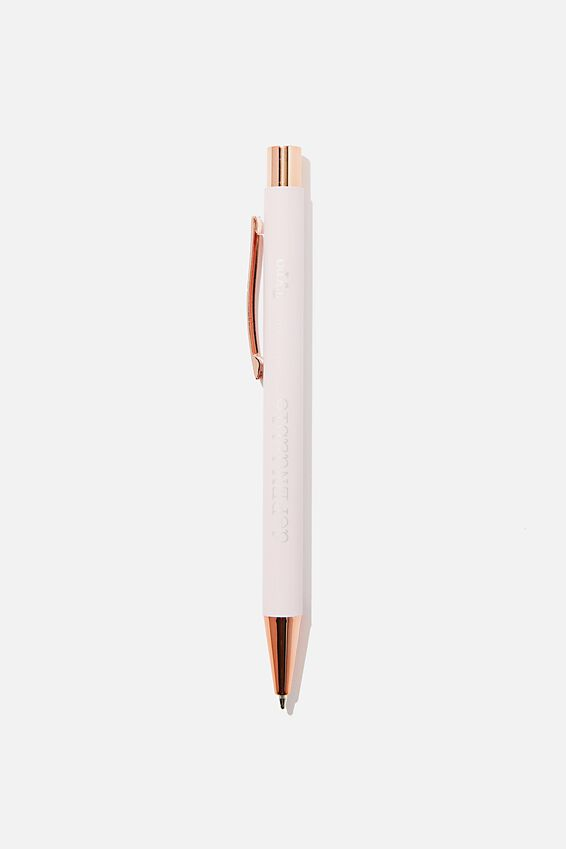 Dependable Ballpoint Pen, LIGHT PINK