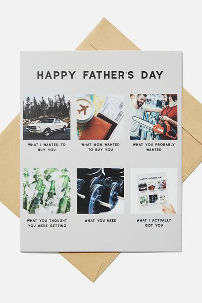 Fathers Day Card 2020, WHAT I GOT YOU MEME!