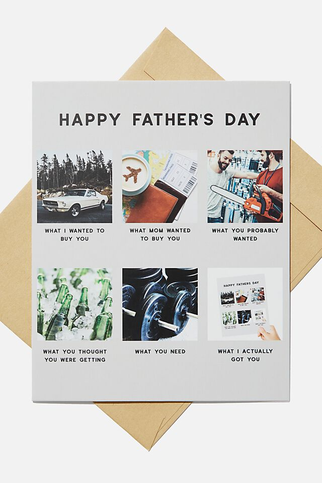 Fathers Day Card, WHAT I GOT YOU MEME!