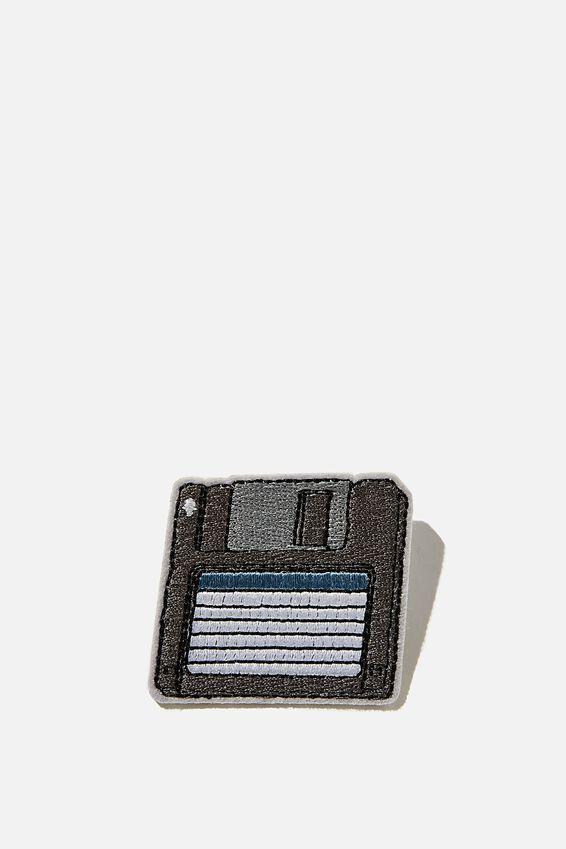 Fabric Badge, FLOPPY DISK
