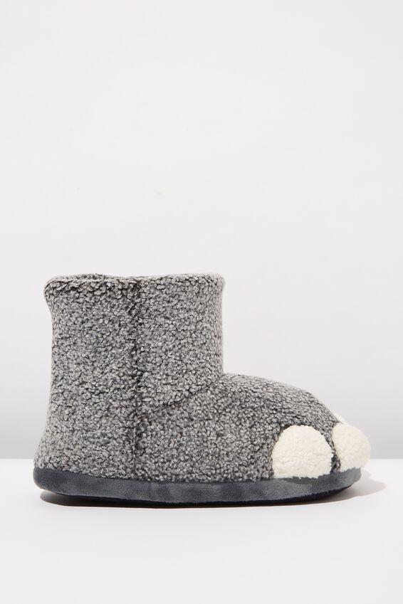 Oversized Slippers, ELEPHANT FEET