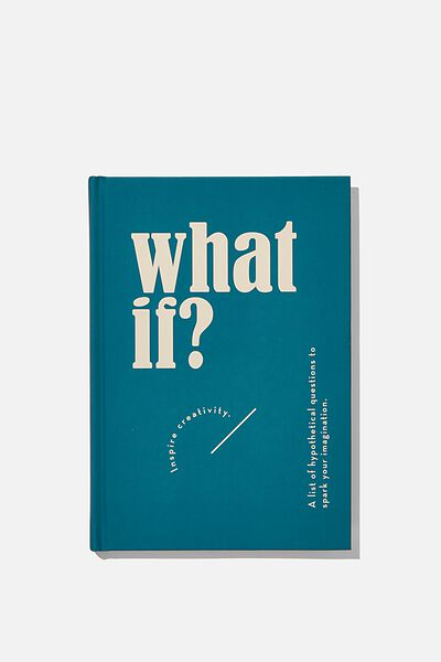 "A5 Fashion Activity Journal (8.27"" x 5.83""), WHAT IF"