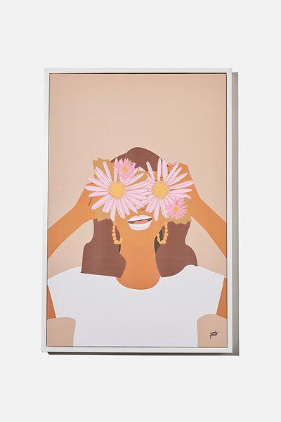 40 X 60 Canvas Art, DAISY CHAIN