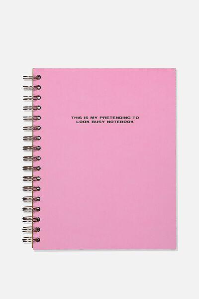 Ultimate Spiral Notebook, PINK