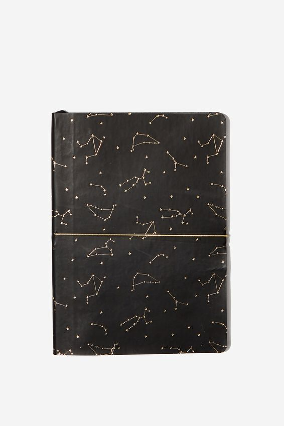 A5 Planner, BLACK CONSTELLATION