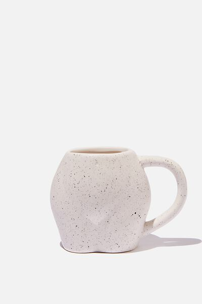Novelty Shaped Mug, FULL BUTT
