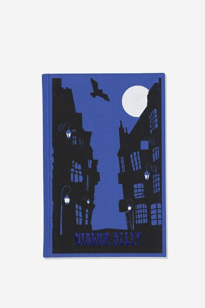 A5 Licensed Print Notebook, LCN WB HP DIAGON ALLEY