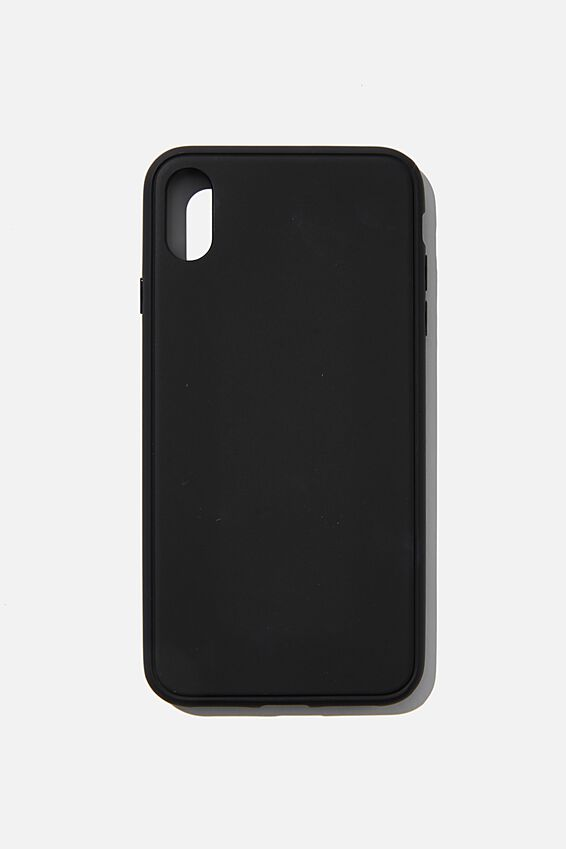 Snap On Protective Phone Case Xs Max, MATTE BLACK