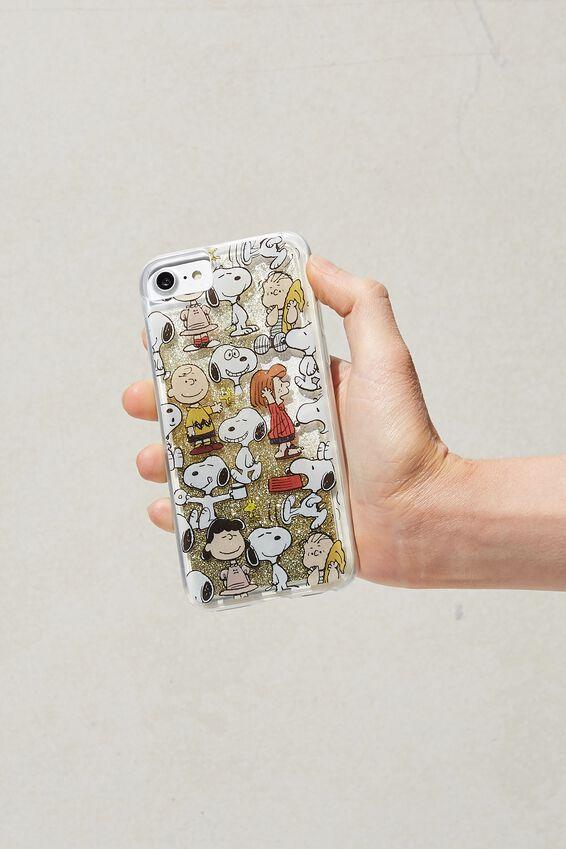 Snoopy Shake It Phone Case Universal SE, 6, 7, 8, LCN PEA SNOOPY YARDAGE