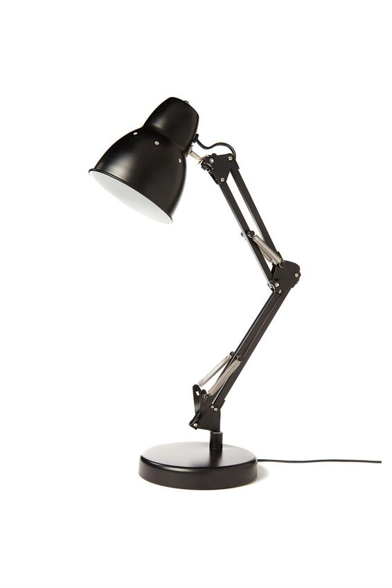 Industrial Lamp Light G, MATTE  BLACK