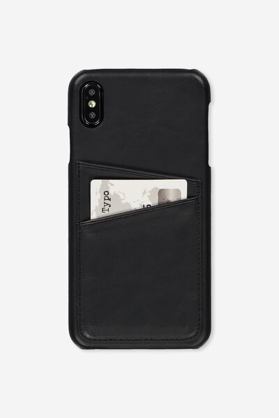 Cardholder Phone Case Iphone Xs Max, BLACK