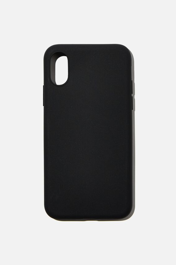 Slimline Recycled Phone Case Iphone X, Xs, BLACK