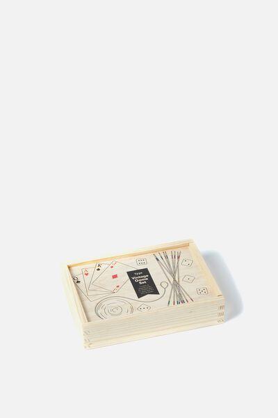 Vintage Game Set, MULTI