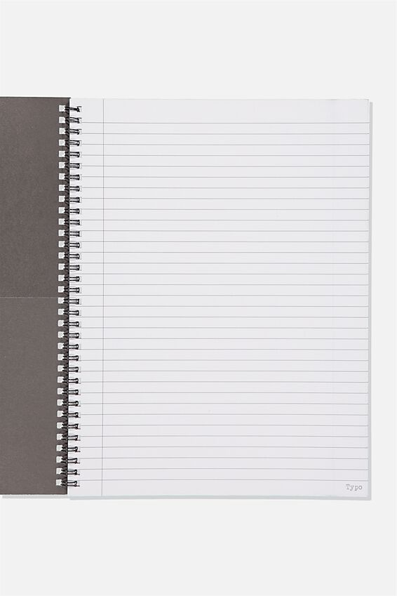 A4 Spinout Notebook Recycled, BREAKTHROUGH