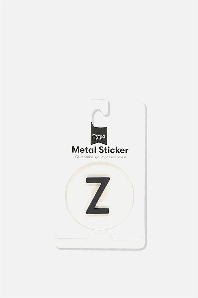 Metal Stickers, BLACK Z
