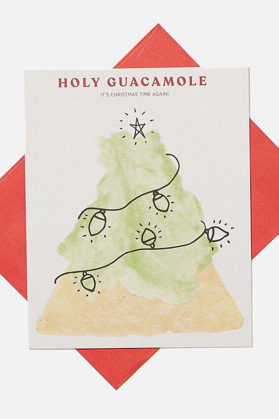 Christmas Card 2020, HOLY GUACAMOLE