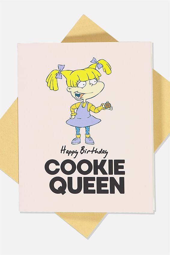 Rugrats Nice Birthday Card, LCN NIC RU COOKIE QUEEN
