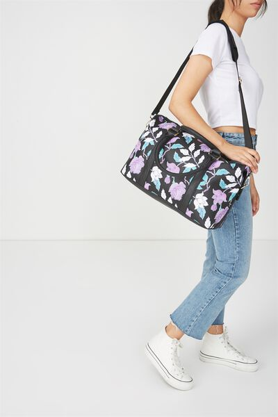 Weekend Away Duffel Bag, LUSH FLORAL
