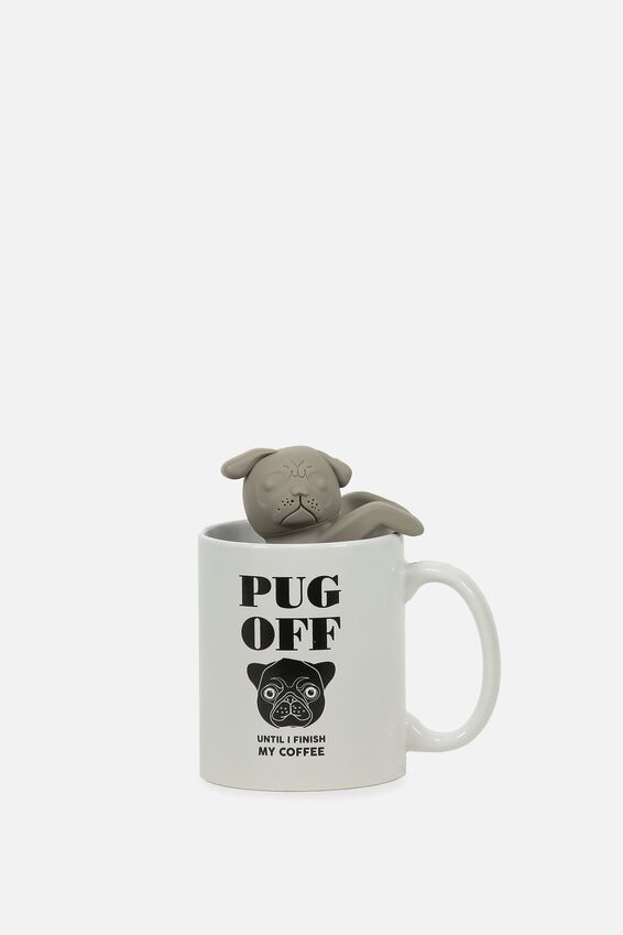 Mug & Tea Infuser Set, DOG