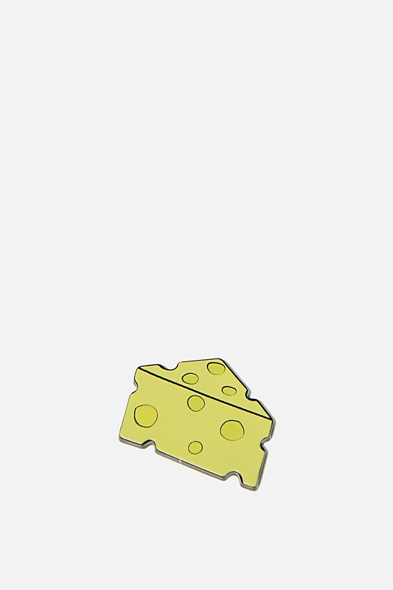 Enamel Stickers, CHEESE