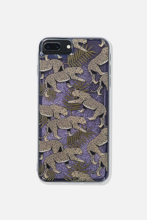 Shake It Phone Case 6, 7, 8 Plus, LEOPARD FERN