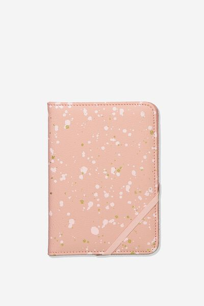 Rfid Passport Holder, SUNSET SPECKLE