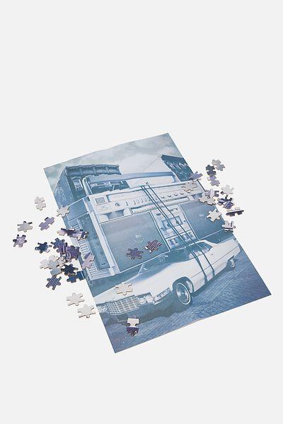 1000 Piece Puzzle, BOOM BOX CAR