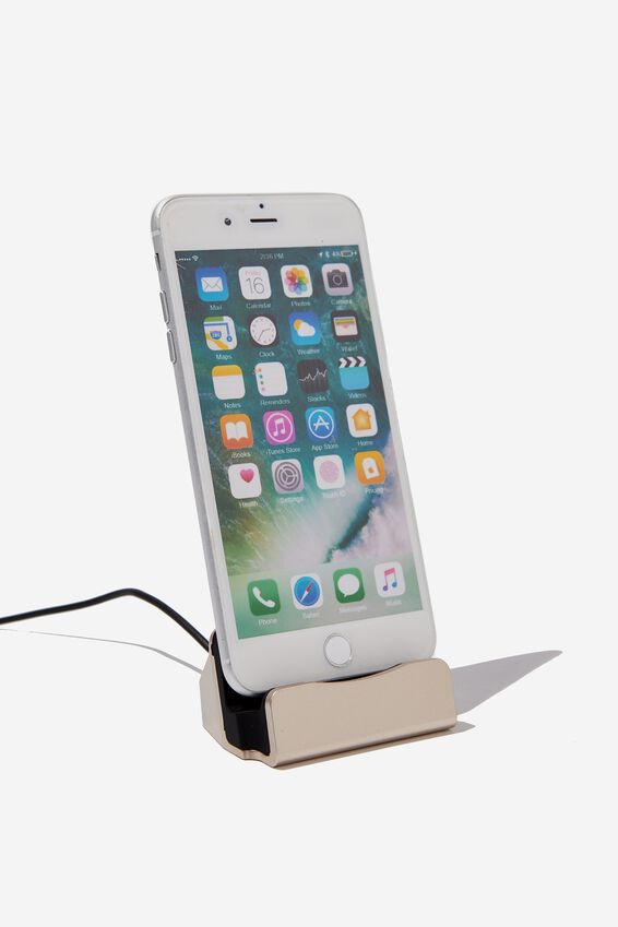 Phone Docking Station, GOLD