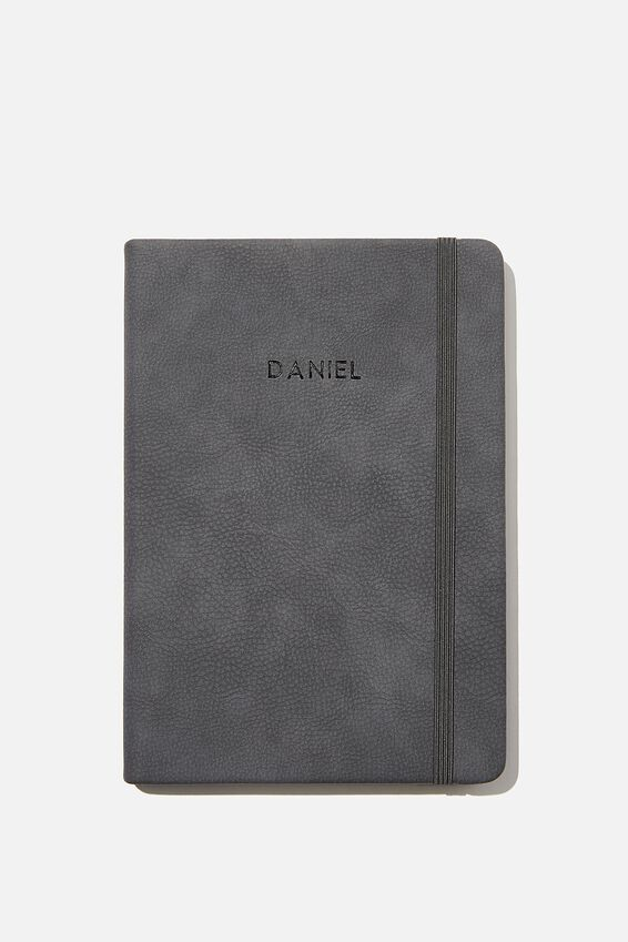 Personalised A5 Buffalo Journal, WELSH SLATE