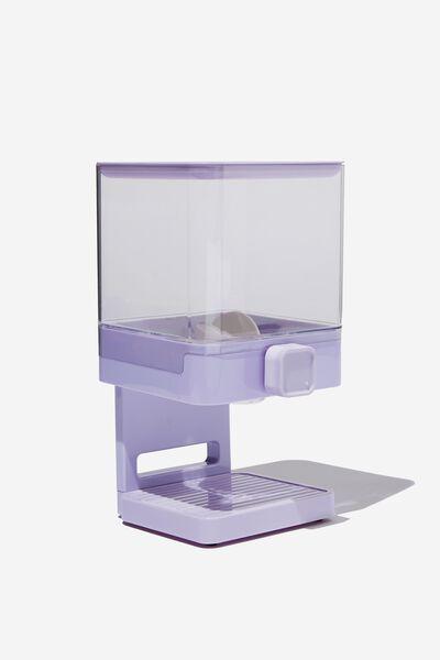 Food Dispenser, PALE LILAC
