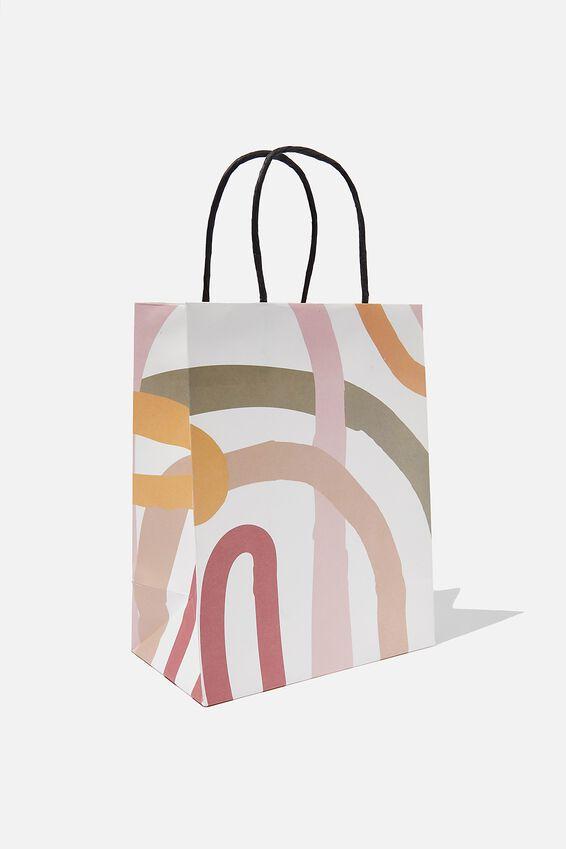Get Stuffed Gift Bag - Small, MODERN RAINBOW