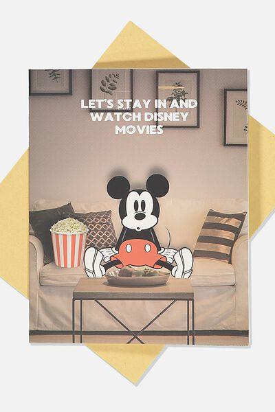 Love Card, LCN DIS MICKEY WATCHING DISNEY