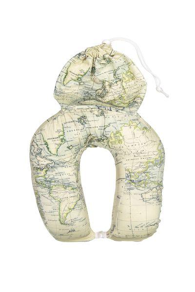 Foam Travel Neck Pillow, WORLD YARDAGE