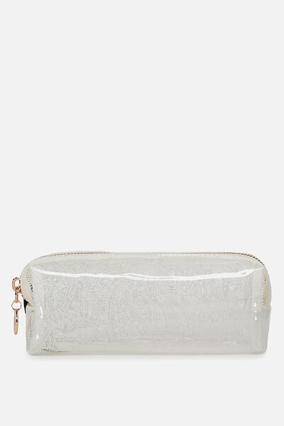 Clear Bailey Case, WHITE LACE