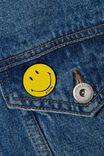 Smiley Enamel Badge, LCN SMI SMILEY FACE