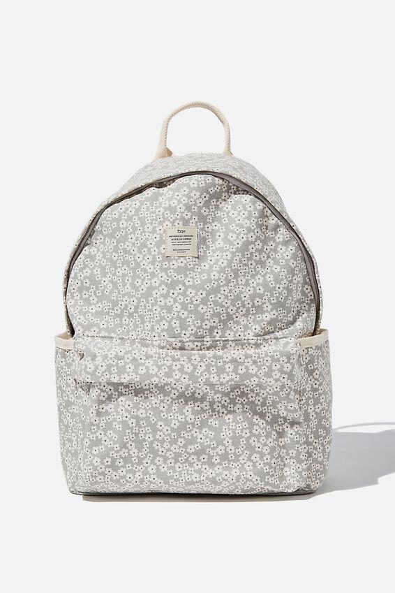Fundamental Backpack, CHERRY BLOSSOM COOL GREY