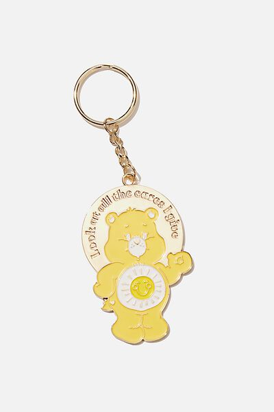 Large Lcn Enamel Keyring, LCN CLC CARE BEARS