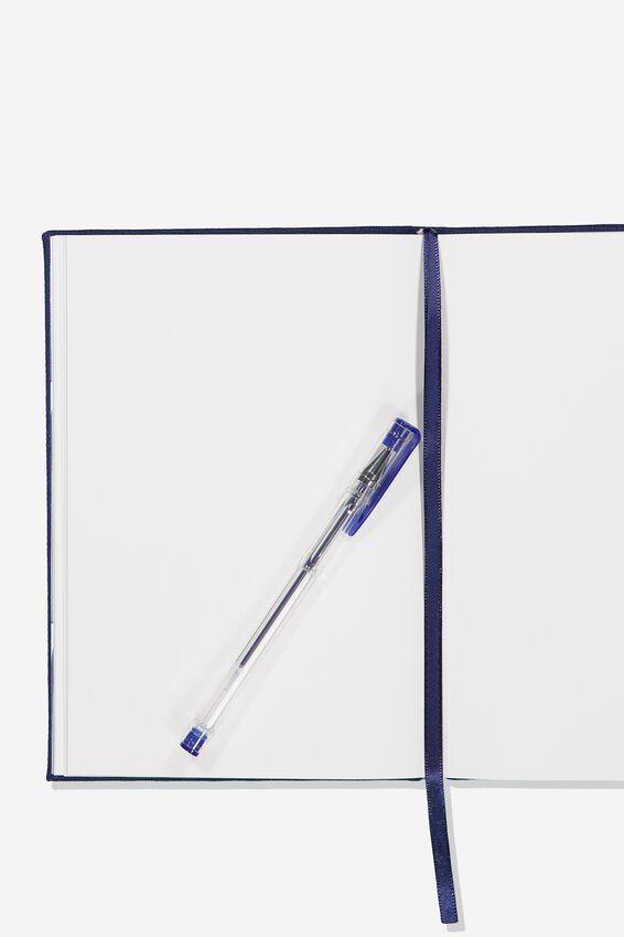 A5 Sketch Notebook, NAVY