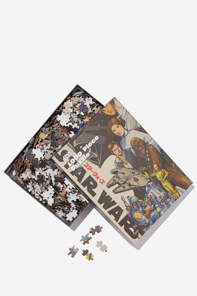 Star Wars 1000 Piece Puzzle, LCN LUC STAR WARS