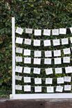Large Hang & Peg Display, WHITE WASH