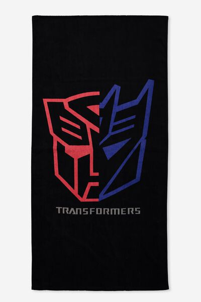 Single Beach Towel, LCN TRANSFORMERS