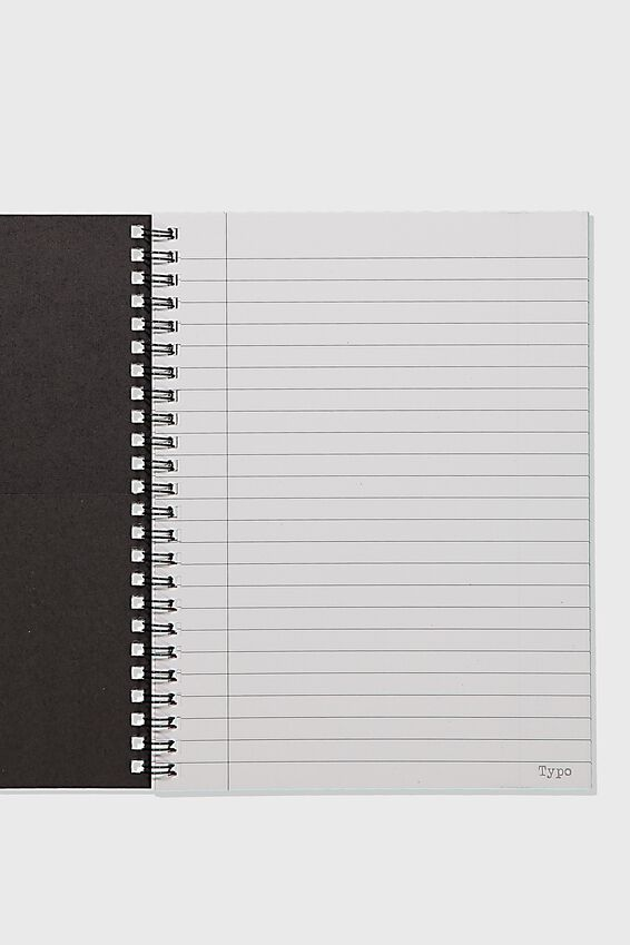 A5 Spinout Notebook Recycled, EVERYDAY MAGIC
