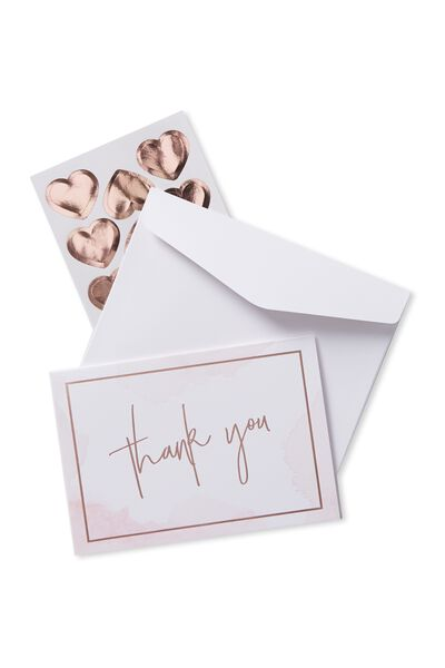 Thank You Cards, WATER COLOUR