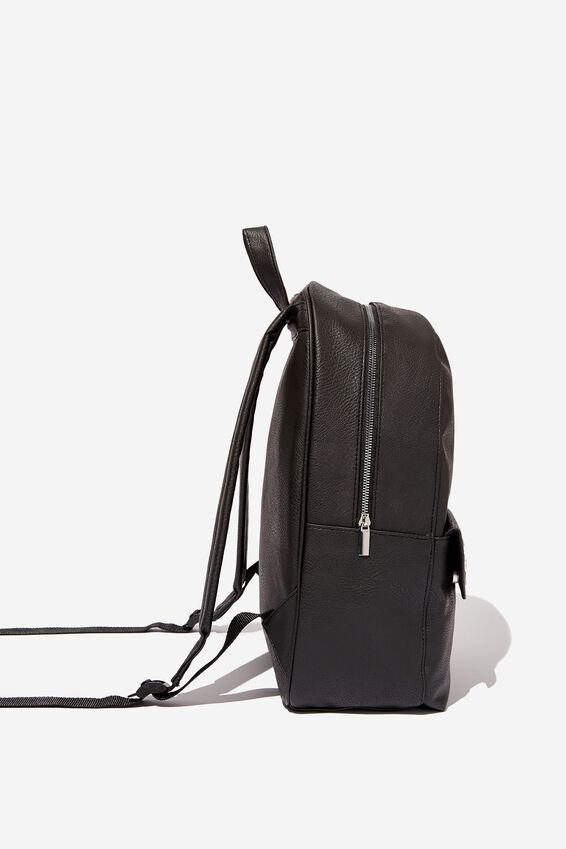 Scholar Backpack, BLACK WITH STAR PATTERN