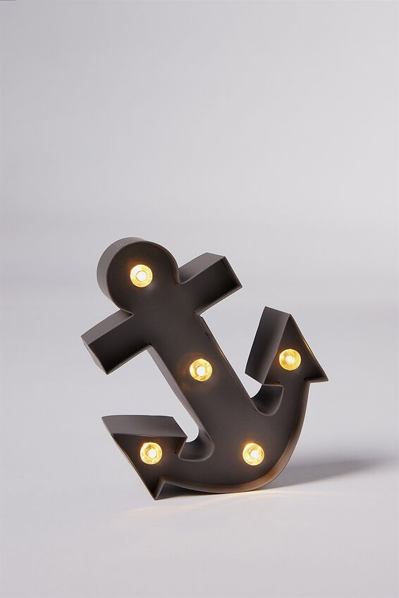 Shaped Mini Marquee Light, ANCHOR