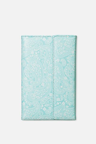 Undated Luxury Planner, BLUE LACE